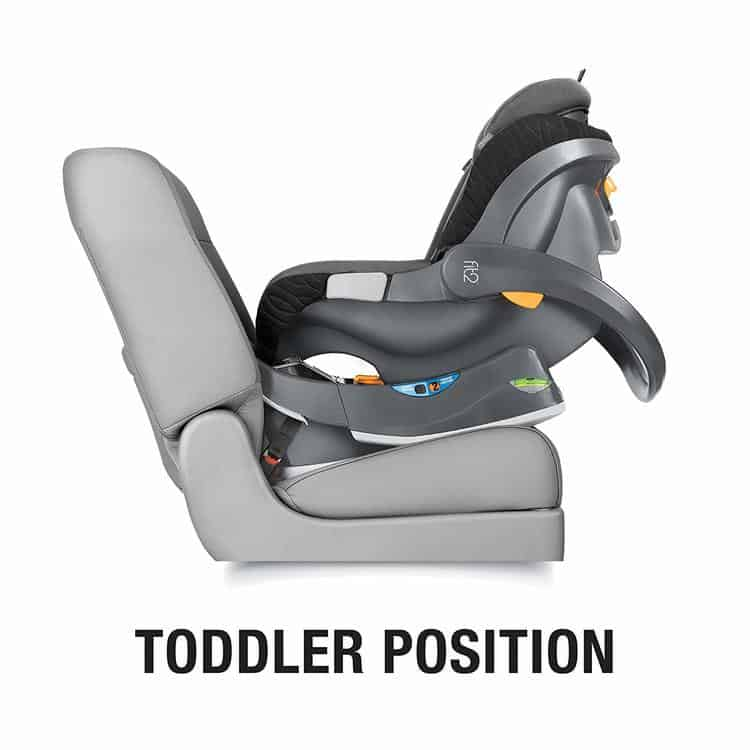Chicco Fit2 Infant car seat specifications 3
