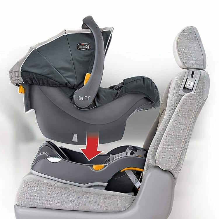 Chicco KeyFit 30 Infant Car Seat features 3