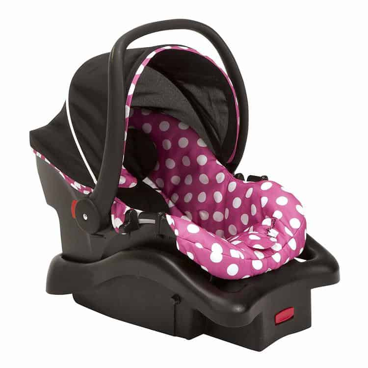 Disney Baby Minnie Mouse Light n Comfy 22 Luxe Infant Car Seat
