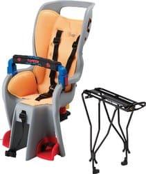 Topeak Baby Sitter II Bike Seat with Alloy Rack Disc Rack