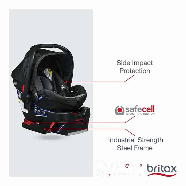 Britax B-Safe 35 Infant Car Seat specifications 2