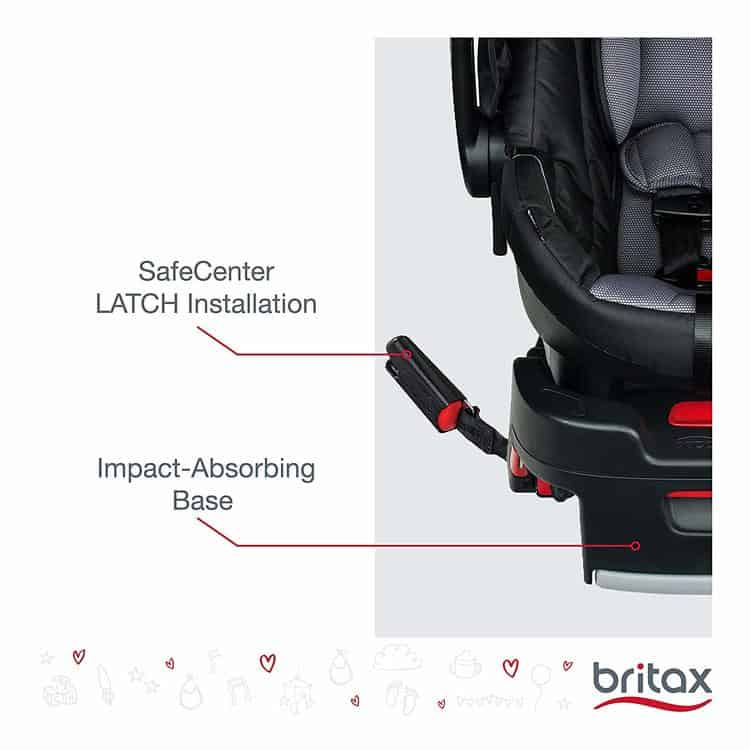 Britax B-Safe 35 Infant Car Seat specifications 3