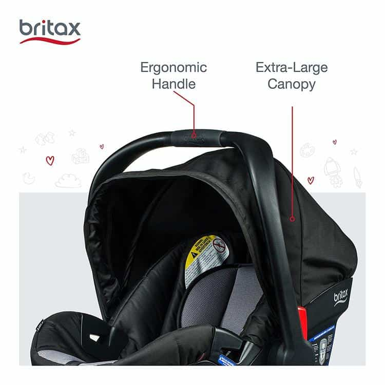 Britax B-Safe 35 Infant Car Seat specifications 5