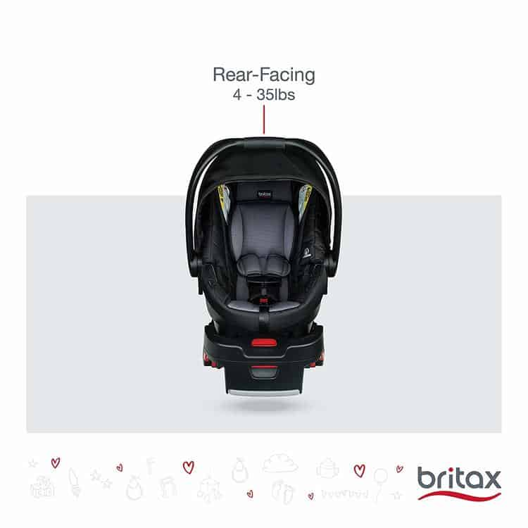 Britax B-Safe 35 Infant Car Seat specifications