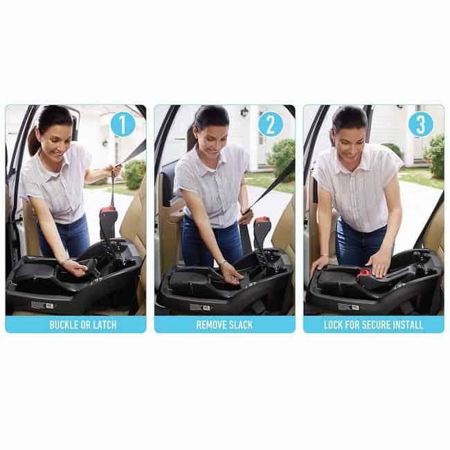 Graco SnugRide SnugLock 35 XT Infant Car Seat specifications 4