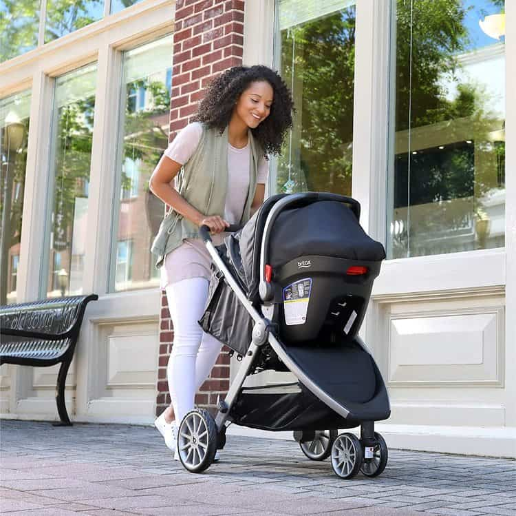 Britax B-Lively Travel System with B-Safe 35 Infant Car Seat features 10