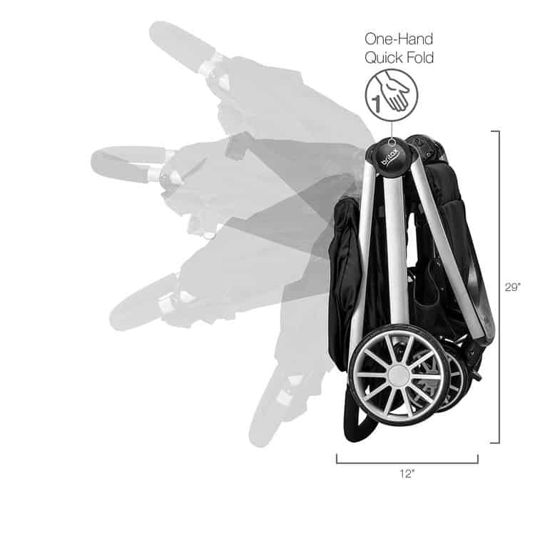 Britax B-Lively Travel System with B-Safe 35 Infant Car Seat features 7