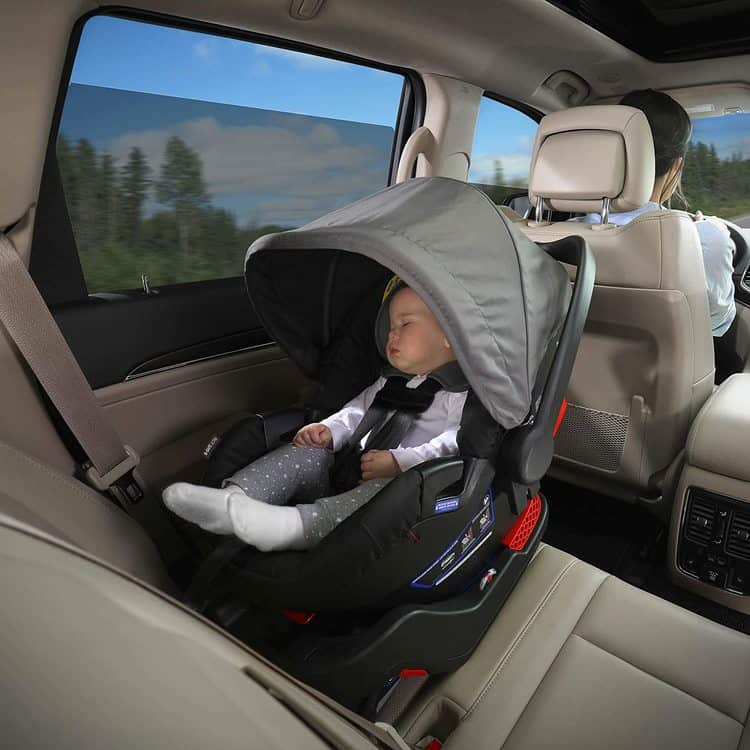 Britax B-Lively Travel System with B-Safe 35 Infant Car Seat features 8