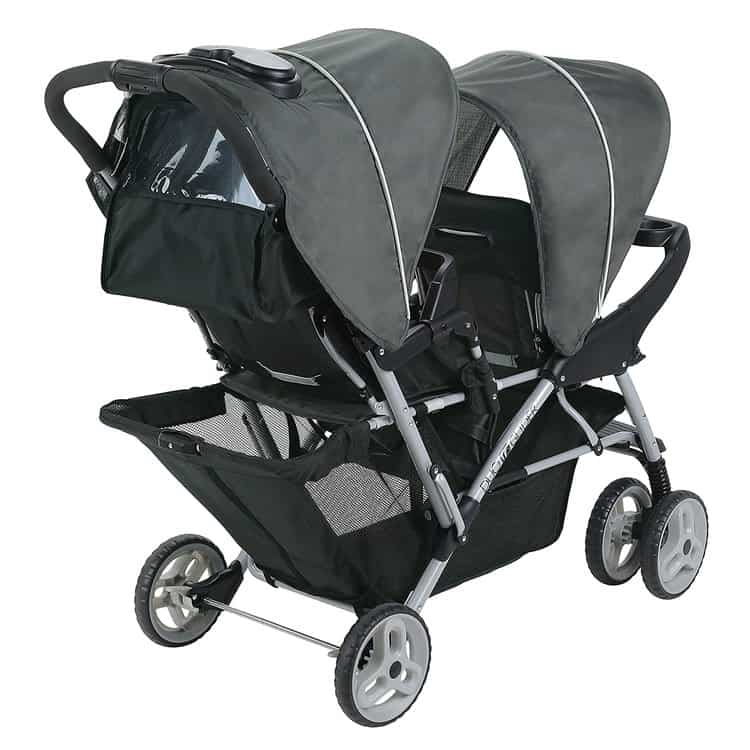 Graco DuoGlider Double Stroller features 2