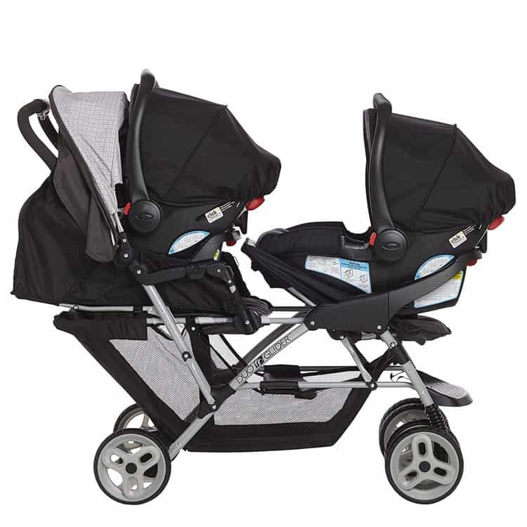 Graco DuoGlider Double Stroller features 3