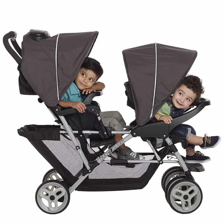 Graco DuoGlider Double Stroller features 4