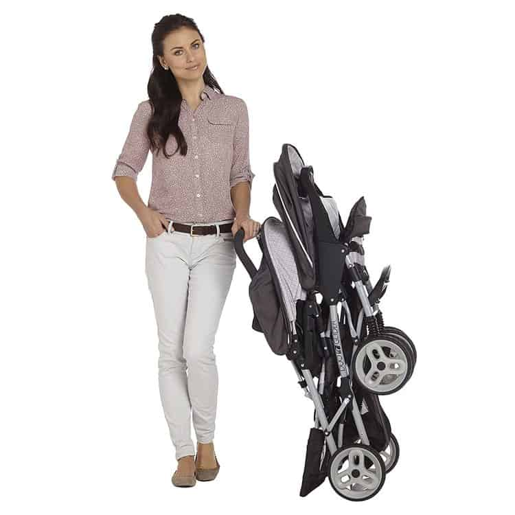Graco DuoGlider Double Stroller features 5