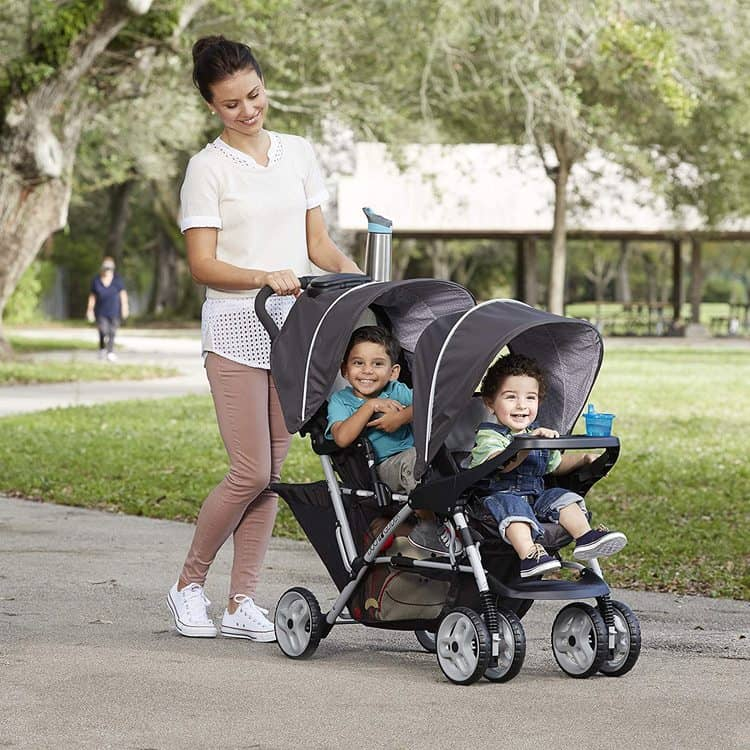 Graco DuoGlider Double Stroller features 6