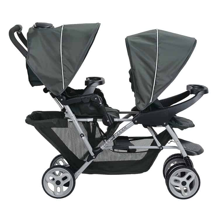 Graco DuoGlider Double Stroller features